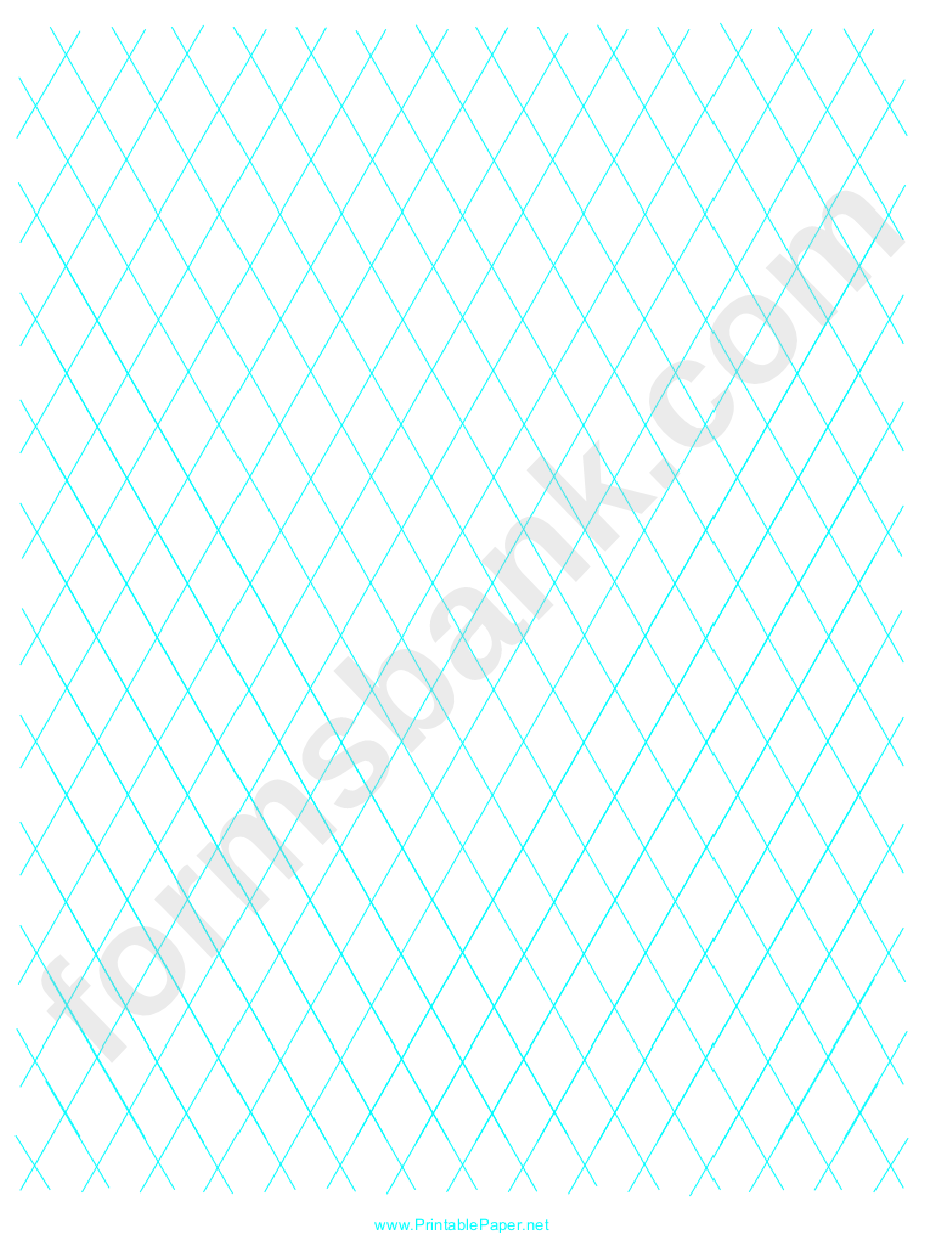 Diamond Graph Paper 1 Inch Printable Pdf Download
