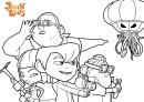 Pumpkin Reports Coloring Sheet