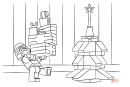 Lego Star Wars - Clone Christmas Coloring Page