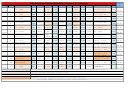 Mini Adventure Training Schedule