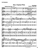 Baby Elephant Walk - Henry Mancini - Alto Saxophone