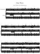 Star Wars - Easy Piano Accompaniment