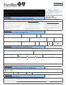 Form Msa-1 - Medical Benefits Subscriber Claim Form