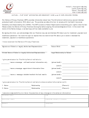 Hipaa - Patient Acknowledgement/use And Disclosure Form