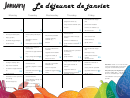 French Menu Template - January