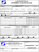 Republic Of The Philippines Social Security System Retirement Claim Application