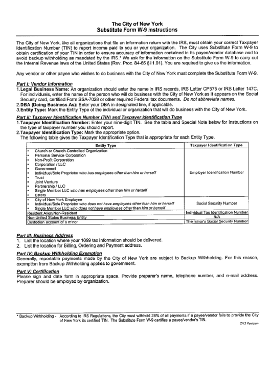 Top W-9 Form Ny Templates free to download in PDF, Word and Excel ...