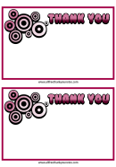 Thank You Note Template