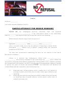 Sample Affidavit For Search Warrant