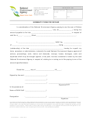 Indemnity Form For Refund - Singapore National Environment Agency