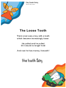 Tooth Fairy Letter Template For A Boy