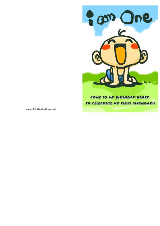 Baby Shower Invitation Template Printable pdf