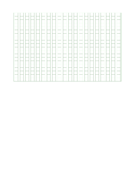 Graph Paper - Green Printable pdf