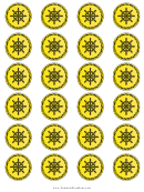 Pirate Coin Templates