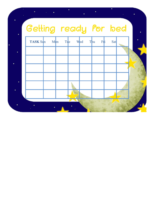 Baby Sleep Schedule Printable pdf