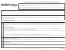 Medical And/or Dental Application And Change Form