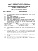 Awbi Dog Breeding Registration Form For Breeding Bitches / Stud Dogs