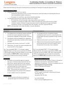 Exemption Prerequisite Approval Procedures Information