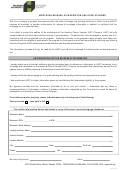 Mortgage Release Authorization And Good Standing