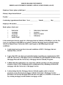 Mortgage Interest Subsidy Application Form