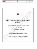 Accredited Investors Form