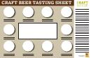 Craft Beer Tasting Sheet