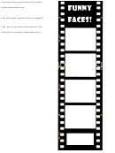 Photobooth Strip Template