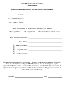 Request For File Search And Verification Of U.s. Citizenship