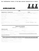 Address Change Form -