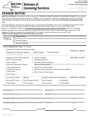 Form Dos 1473-f - Change Notice