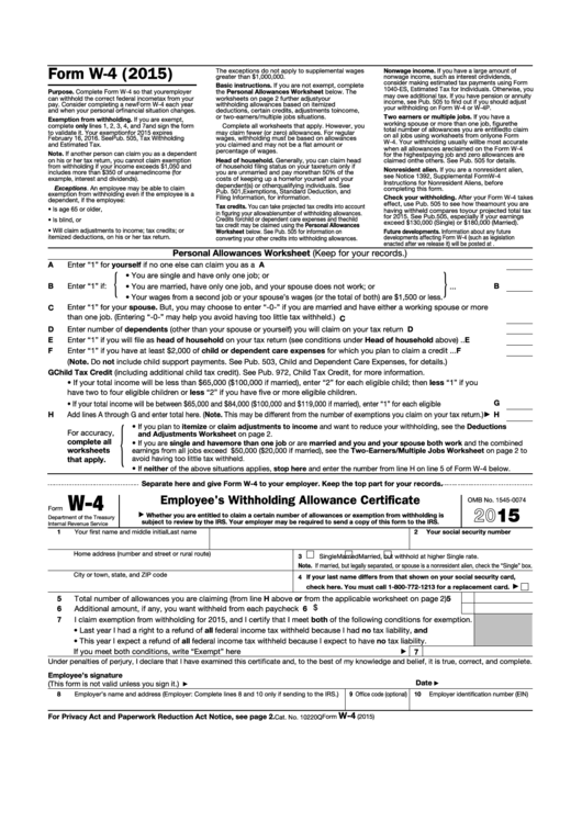 employee form forms withholding certificate allowance kansas missouri mo pdf printable