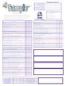 Kindergarten Report Card - Sample