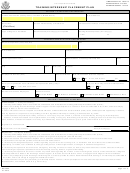 Ds-7002, 2013, Training/internship Placement Plan