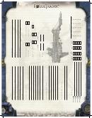 Rogue Trader Character Sheet