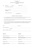 Form K - Notice Of Tenant's Responsibilities Strata Property Act