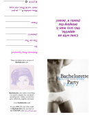 Bachelorette Invitation Template