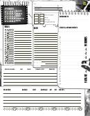 Deadlands Noir Character Sheet