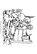 Nativity Coloring Sheet