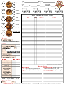L5r 3rd Edition Sheet