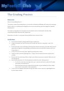 Example Grading Sheet - My Football Club