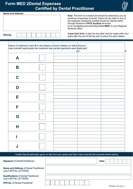 Top Med 1 Form Templates free to download in PDF, Word and Excel ...