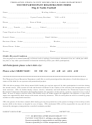 Flag & Tackle Football Youth Participant Registration Form - Thomaston-upson County Recreation & Parks Department