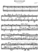 Carter Burwell - Bella's Lullaby Sheet Music