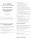 Fact Sheet - Hud