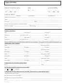 Childcare Registration Form