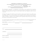 Agreement Of Personal Guaranty Attached To And Made Part Of The Lease Agreement Template