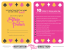 Strip Poker Texas Holdem Rules Sheet