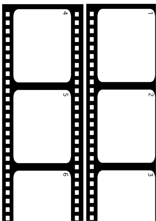 printable film strip template - film strip graphic organizer printable pdf download