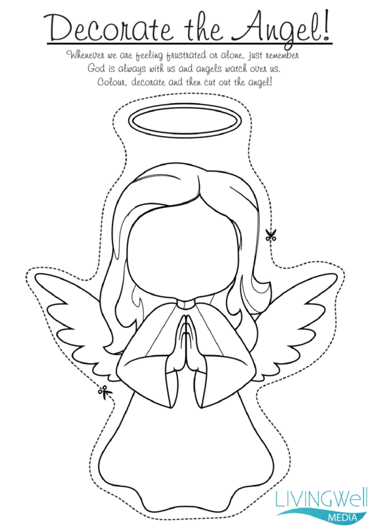 Decorate The Angel Templates