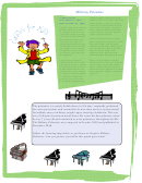 Frederic Chopin Activity Sheet